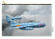 Mig 17s On The Hunt Carry-all Pouch