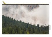 Mighty Dolomite Peaking Through The Clouds Carry-all Pouch
