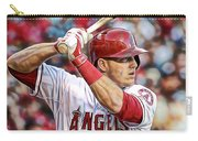 Mike Trout Baseball Carry-all Pouch