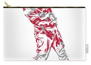 Mike Trout Los Angeles Angels Pixel Art 20 Carry-all Pouch