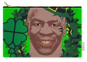 Mike Tyson Funny St. Patrick's Day Design Kith Me I'm Irith Carry-all Pouch