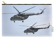 Mil Mi-17 Helicopters Of The Czech Air Carry-all Pouch