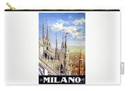 Milan Travel Print Carry-all Pouch