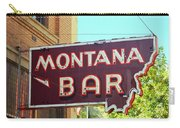 Miles City, Montana - Bar Neon Carry-all Pouch