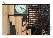 Miles City, Montana - Downtown Clock Carry-all Pouch