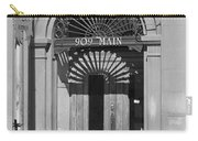 Miles City, Montana - Downtown Entrance Bw Carry-all Pouch