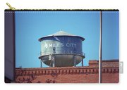 Miles City, Montana - Water Tower Carry-all Pouch