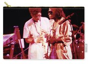 Miles Davis Image 10 And Bob Berg 1985 Your Under Arrest Tour Carry-all Pouch