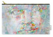 Miles Davis - Watercolor Portrait.4 Carry-all Pouch