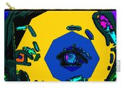 Miley Cyrus At Five With An Attitude Print Carry-all Pouch