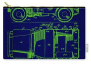 Military Vehicle Body Patent Drawing 1e Carry-all Pouch