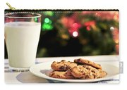 Milk And Cookies For Santa Carry-all Pouch by Elena Elisseeva
