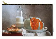 Milk And Pumpkin Carry-all Pouch