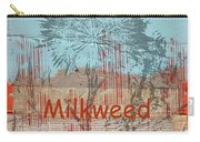 Milkweed Collage Carry-all Pouch
