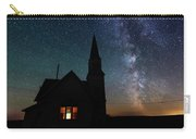 Milky Way And Old Church Carry-all Pouch