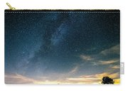 Milky Way During Perseids Carry-all Pouch