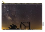 Milky Way Over Abandoned Bridge Carry-all Pouch