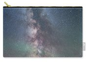 Milky Way Over An Old Ranch Corral Carry-all Pouch