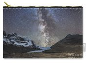 Milky Way Over Athabasca Glacier Carry-all Pouch