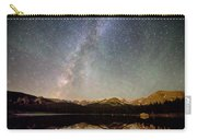 Milky Way Over The Colorado Indian Peaks Carry-all Pouch