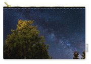 Milky Way Over The Forest At The Troodos Mountains In Cyprus. Carry-all Pouch