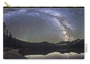 Milky Way Panorama At Cameron Lake Carry-all Pouch