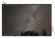 Milky Way With Perseid Meteor Carry-all Pouch