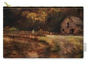 Mill - The Village Edge Carry-all Pouch by Mike Savad