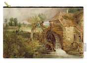 Mill At Gillingham - Dorset Carry-all Pouch by John Constable