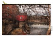 Mill - Clinton Nj - The Mill And Wheel Carry-all Pouch