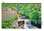 Mill Creek Park Lanterman's Mill And Covered Bridge Carry-all Pouch