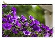 Mill Hill Inn Petunias Carry-all Pouch