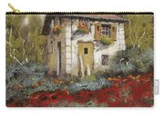 Mille Papaveri Carry-all Pouch by Guido Borelli