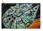 Millenium Falcon Carry-all Pouch by Paul Ward