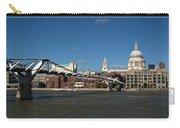 Millennium Bridge And St Pauls Carry-all Pouch