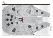 Millennium Falcon II Carry-all Pouch