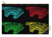 Millennium Falcon Poster Carry-all Pouch