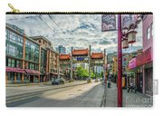 Millennium Gate In Vancouver Chinatown, Canada Carry-all Pouch