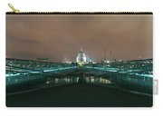 Millennium X St Paul's At Night Carry-all Pouch