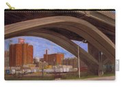 Miller Brewery Viewed Under Bridge Carry-all Pouch