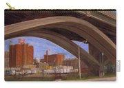 Miller Brewery Viewed Under Bridge Carry-all Pouch