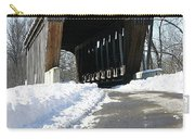Millrace Park Old Covered Bridge - Columbus Indiana Carry-all Pouch