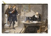 Milton And Galileo, 1638-39 Carry-all Pouch