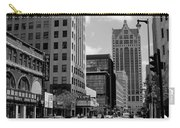 Milwaukee Street Scene B-w Carry-all Pouch