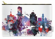 Milwaukee Watercolor Skyline Carry-all Pouch