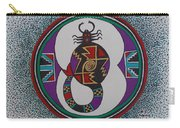 Mimbres Inspired #8a Carry-all Pouch
