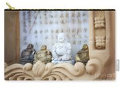Minature Buddhas Carry-all Pouch