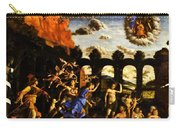 Minerva Chasing The Vices From The Garden Of Virtue 1502 Carry-all Pouch