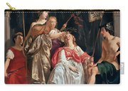 Minerva Crowns The Maid Of Leiden Carry-all Pouch