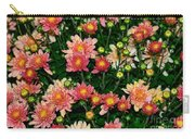 Mini Mums Autumn Tones By Kaye Menner Carry-all Pouch
